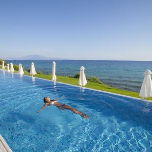 Swimming Pools Plagos Beach Hotel Greece
