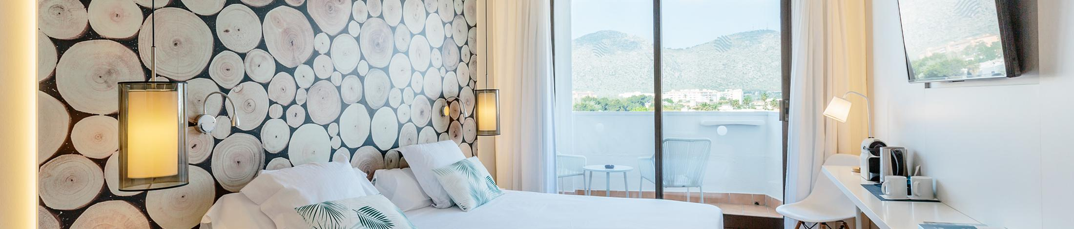 Superior room with pool view aluasoul alcudia bay (adults only)  alcudia, mallorca