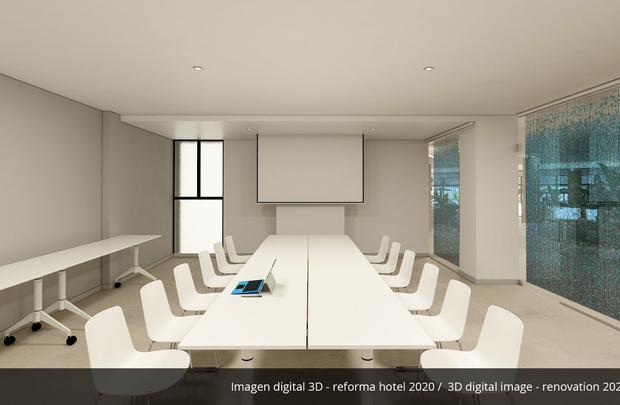 Meeting room- Refurbished in 2020 AluaSoul Palma (Adults Only) Hotel Cala Estancia, Mallorca