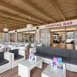 Bars near the beach Alua Boccaccio  Majorca
