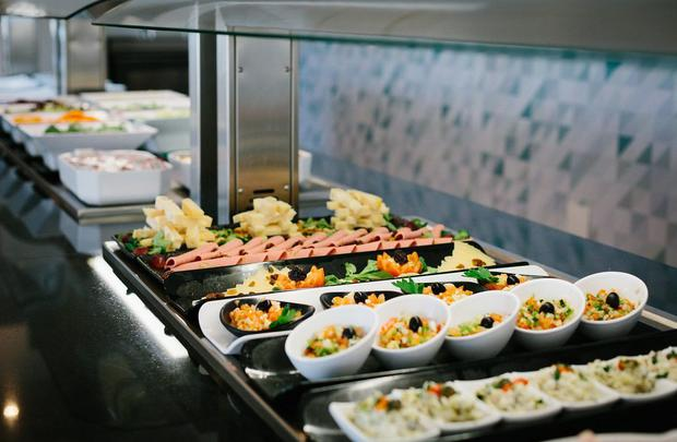Buffet AluaSoul Alcudia Bay (Adults Only) Hotel Alcudia, Mallorca
