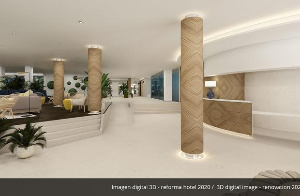Lobby- Refurbished in 2020 AluaSoul Palma (Adults Only) Hotel Cala Estancia, Mallorca