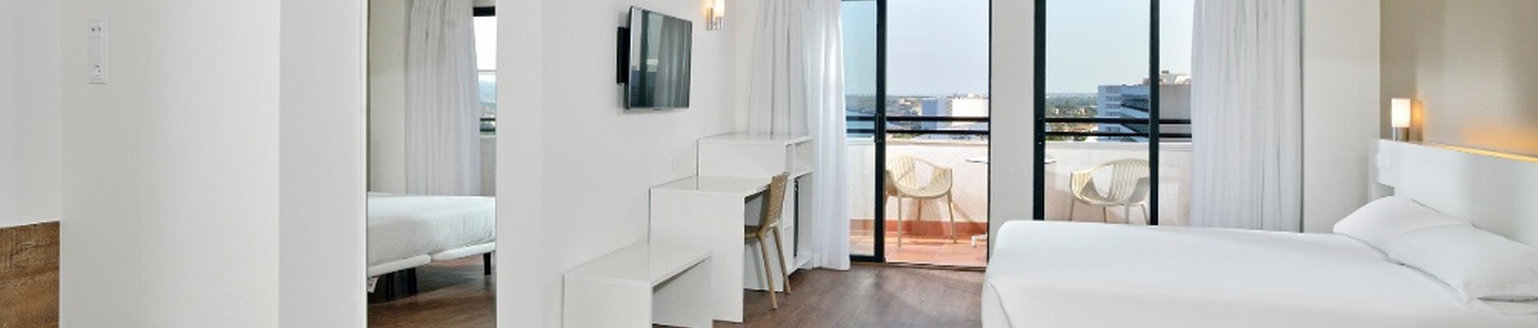 Junior suite sea view alua calas de mallorca resort  majorca
