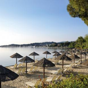 Beach Corcyra Beach Hotel  Greece